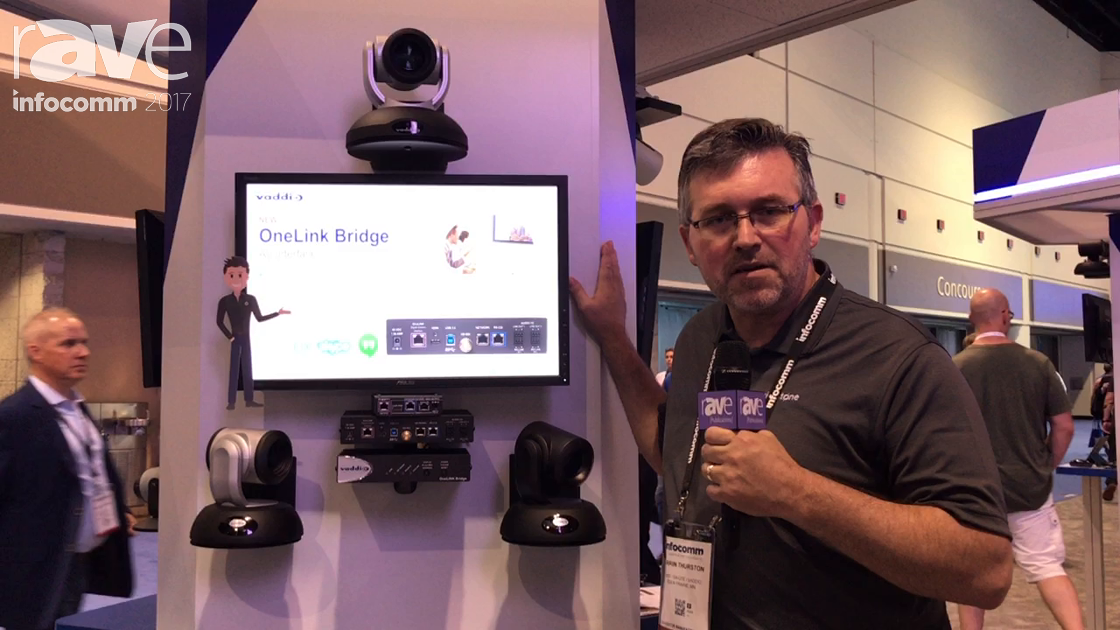 InfoComm 2017: Vaddio Introduces OneLink Bridge