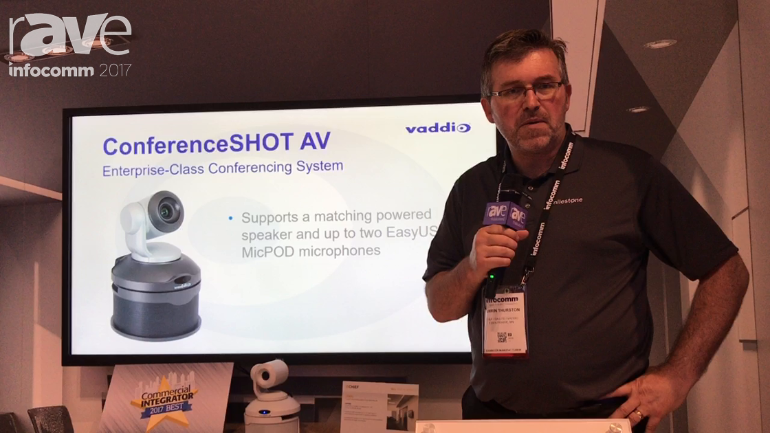 InfoComm 2017: Vaddio Launches ConferenceSHOT AV Bundle
