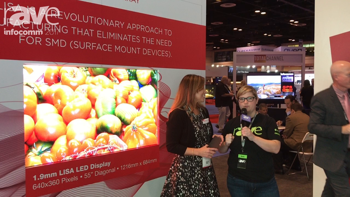 InfoComm 2017: Sara Abrons Interviews Johanna Ocampo of SiliconCore About LISA