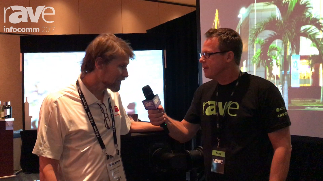 InfoComm 2017: Gary Kayye Talks to Alexis Skatchkoff of Barco About Short Throw Lens For the UDX Pro