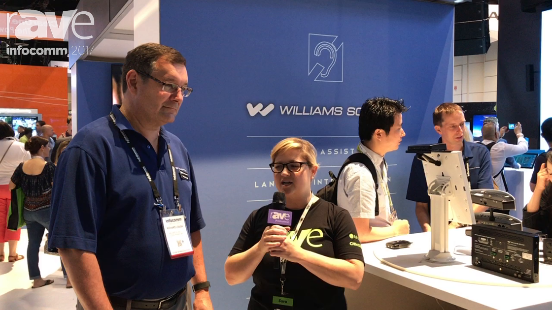 InfoComm 2017: Sara Abrons Interviews Richard Lough of Williams Sound