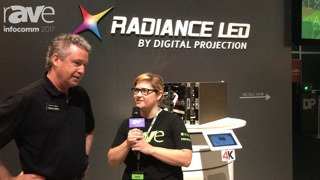 InfoComm 2017: Sara Abrons Talks to Chuck Collins of Digital Projection