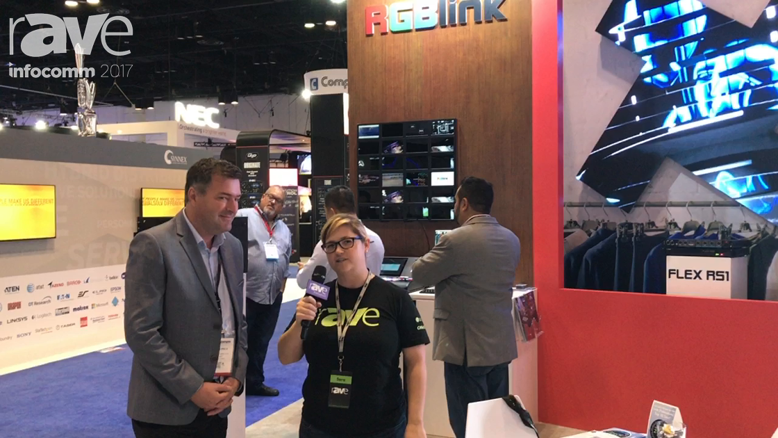 InfoComm 2017: Sara Abrons Talks to Justin Knox at RGBlink About Affordable Video Wall Processing