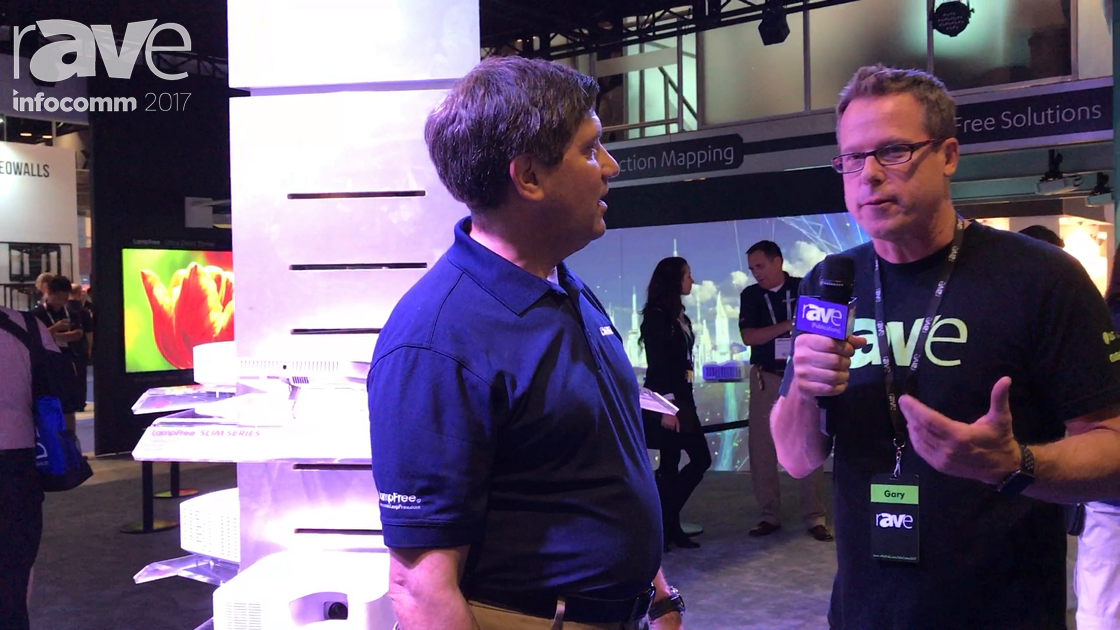 InfoComm 2017: Gary Kayye Speaks to Joseph Gillio of Casio About Its LampFree Technology