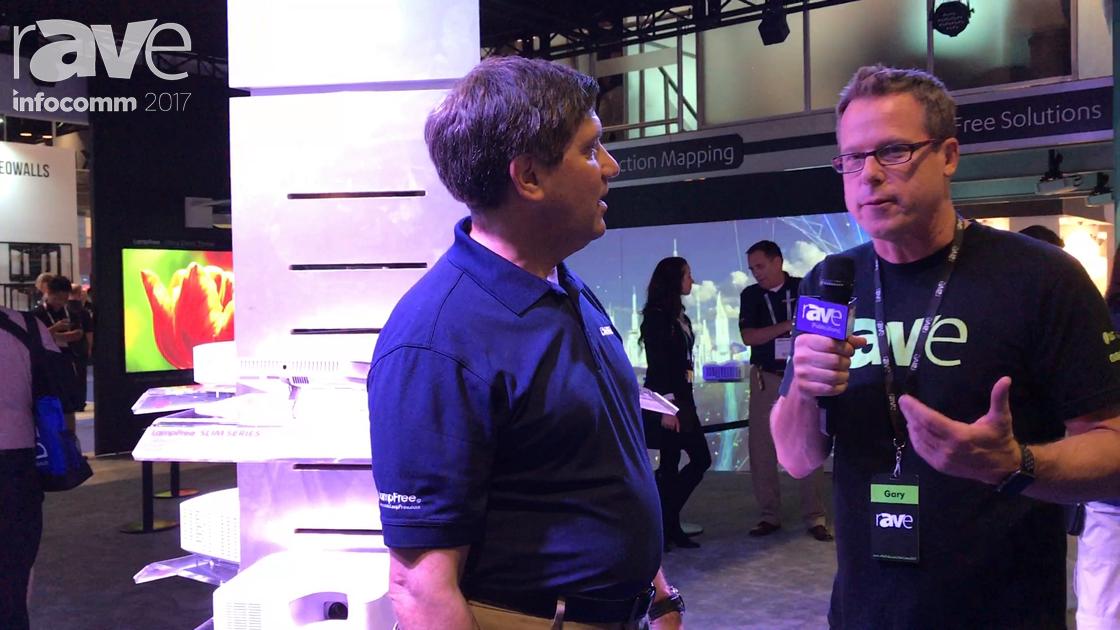 InfoComm 2017: Gary Kayye Speaks to Joseph Gillio of Casio About Its LampFree Technology