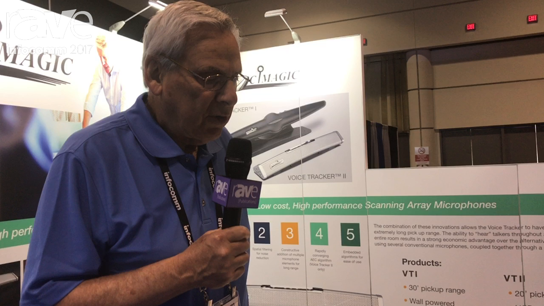 InfoComm 2017: Acoustic Magic Shows Off Voice Tracker II