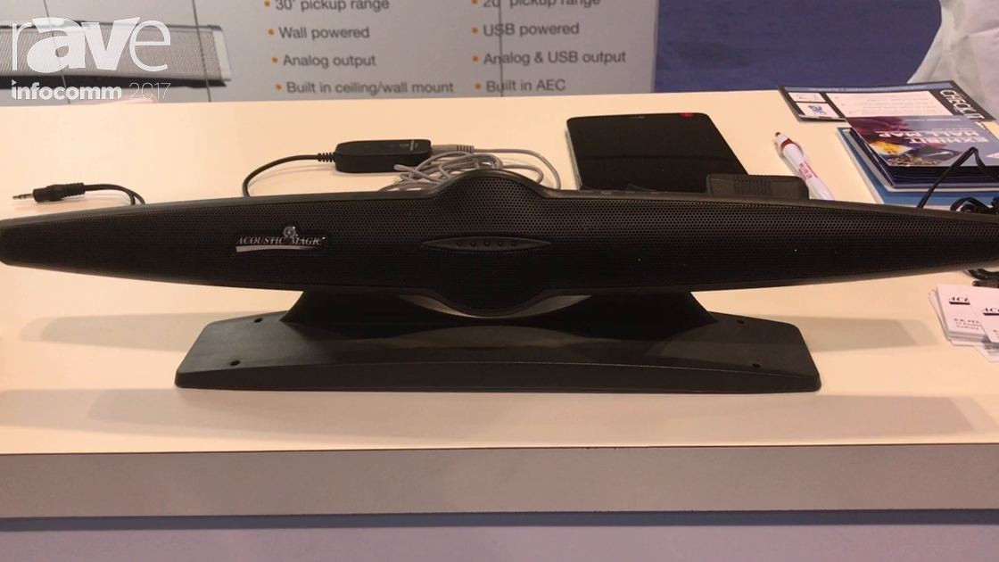 InfoComm 2017: Acoustic Magic Talks About Voice Tracker