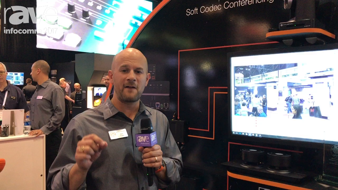 InfoComm 2017: Atlona Highlights the HDVS-300 Soft Codec Conferencing System