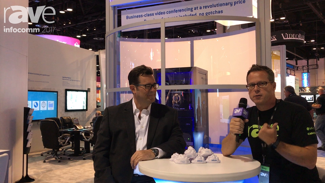 InfoComm 2017: Brady Bruce of InFocus Explains ConX Cloud and New Mondopads to Gary Kayye