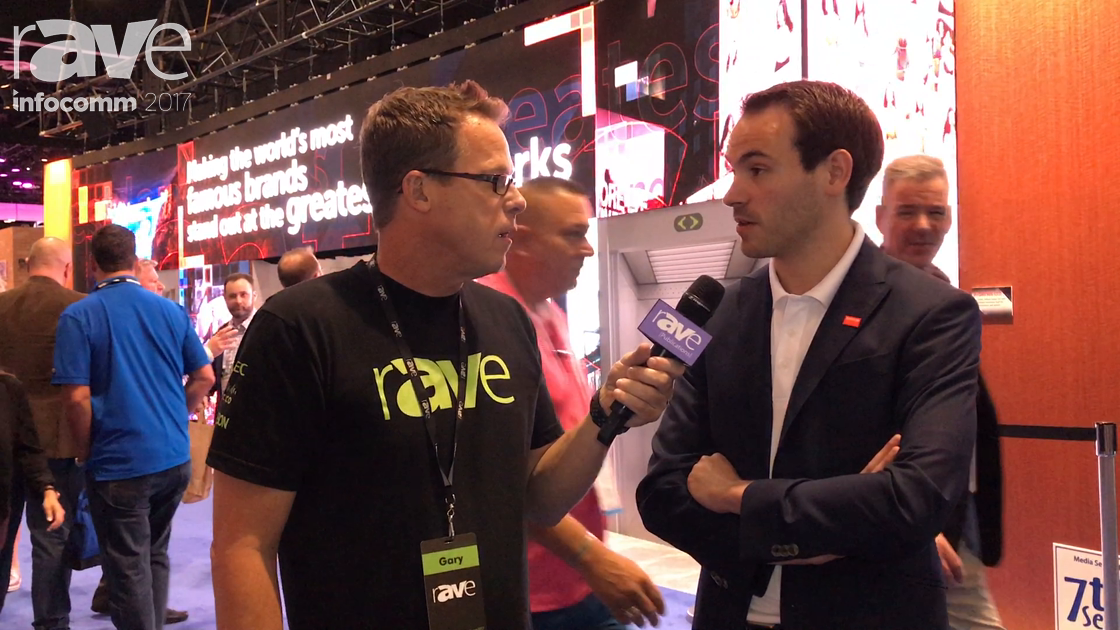 InfoComm 2017: Wouter Bonte of Barco Speaks to Gary Kayye About Its X Series LED Screens