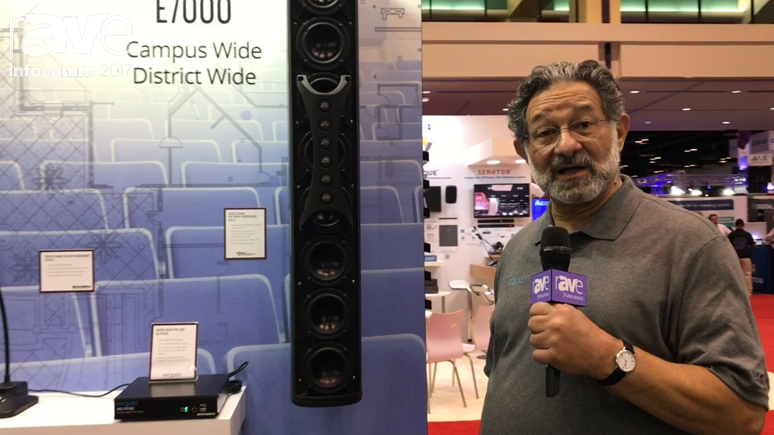 InfoComm 2017: Bogen Communications Intros Apogee Sound Line Array Loudspeaker