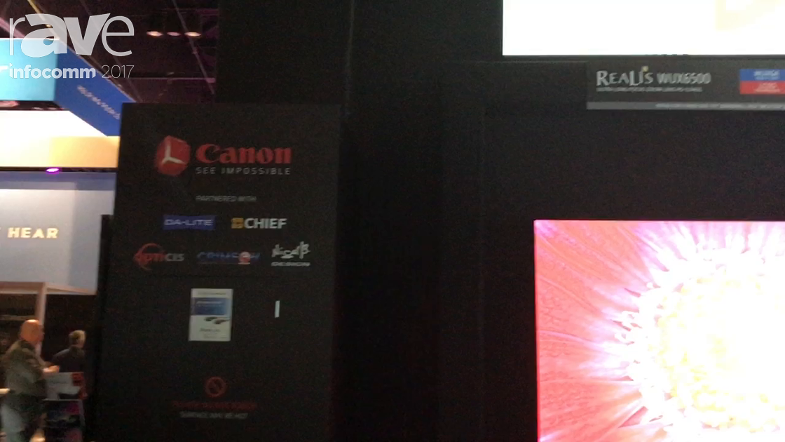 InfoComm 2017: Canon Talks About Its WUX-6500 Series Projector With Interchangable Lenses