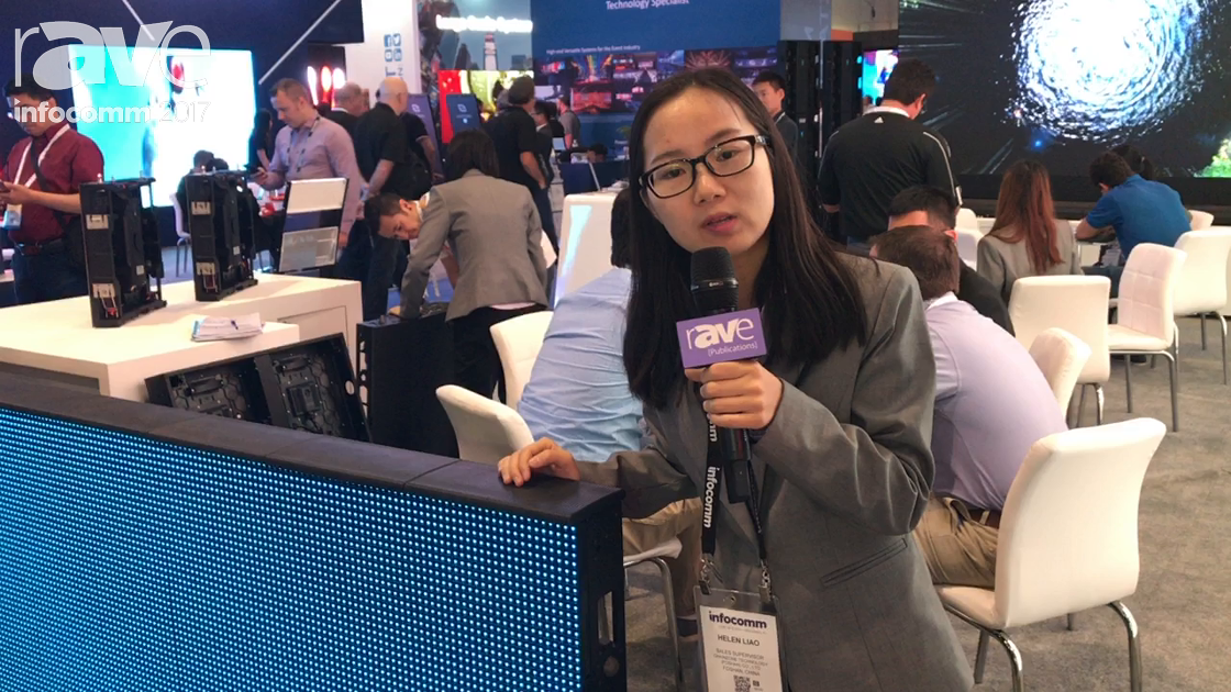 InfoComm 2017: Chainzone Technology Talks About Their Perimeter Display Series