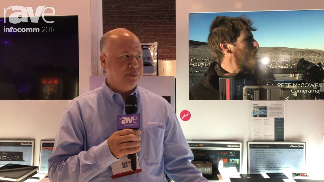 InfoComm 2017: ClearOne Talks About New Products and Features in the Viewpro Product LineMOV