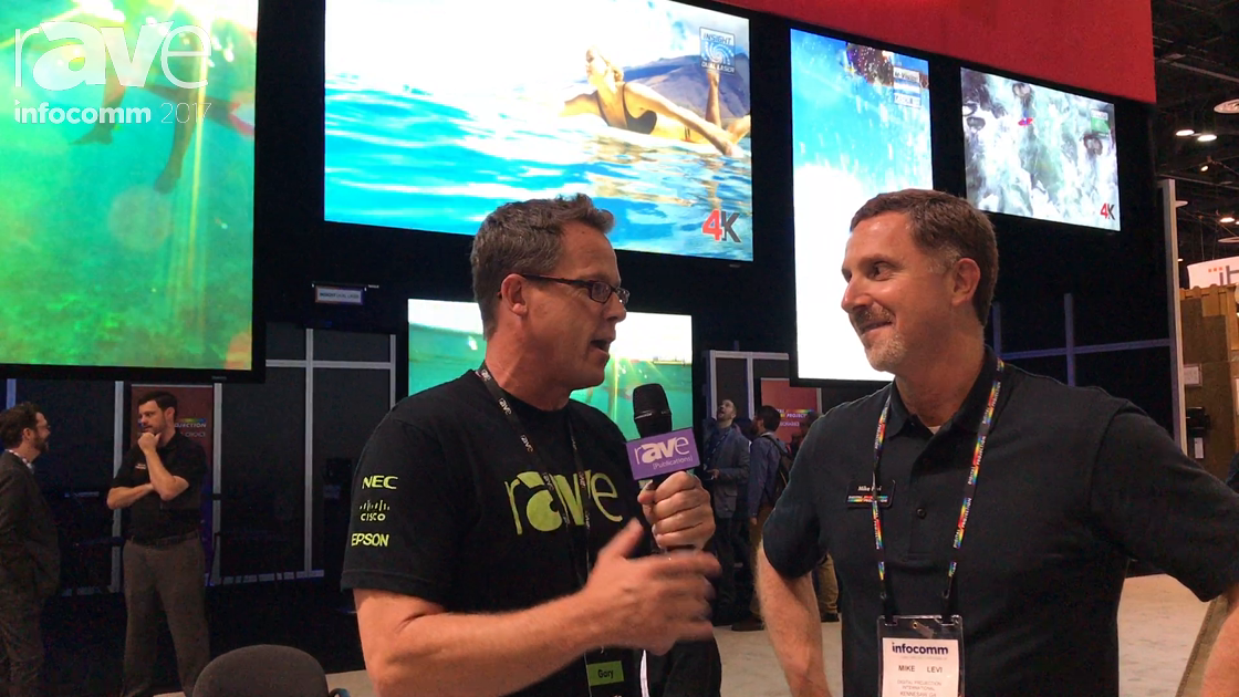 InfoComm 2017: Mike Levi of Digital Projection Talks to Gary Kayye About Projection Industry