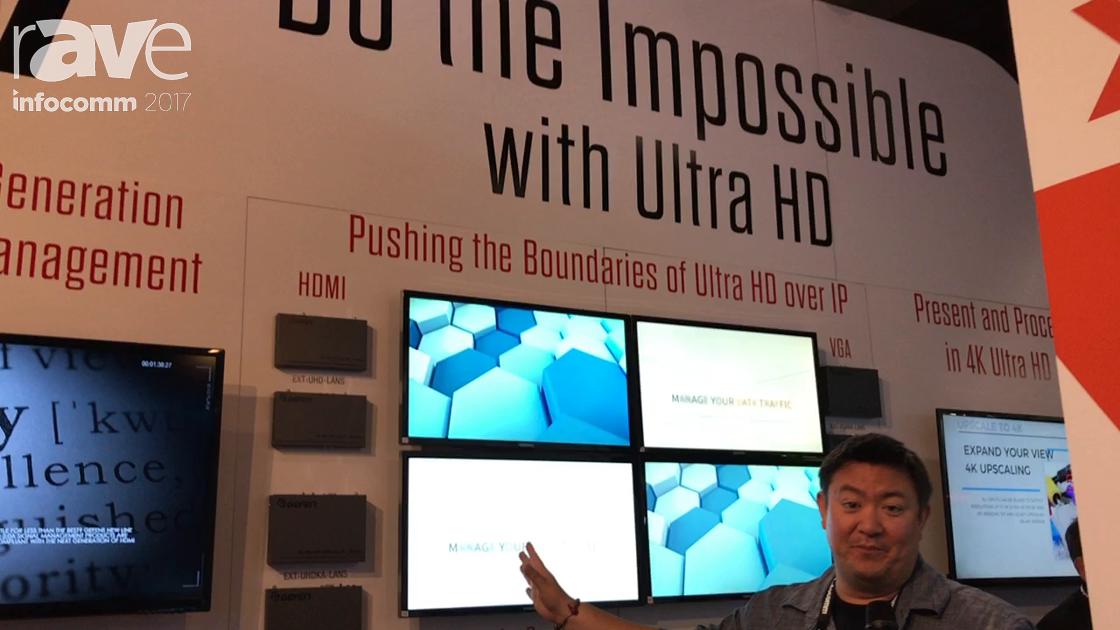 InfoComm 2017: Gefen of CORE Brands Introduces New Generation Video Over IP Line
