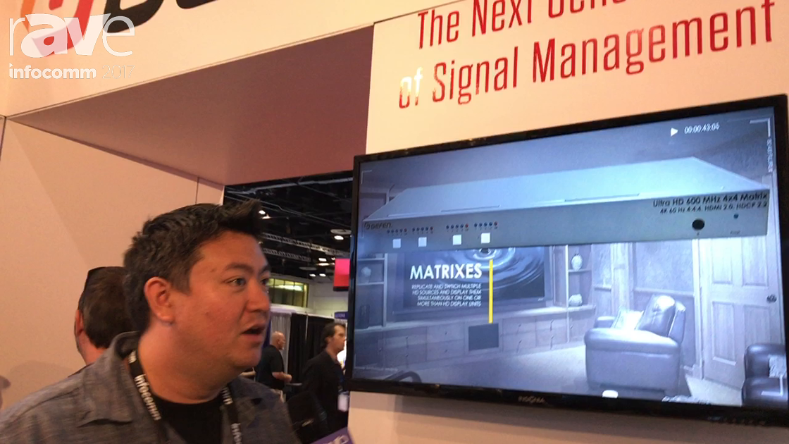 InfoComm 2017: Gefen of CORE Brands Launches New Generation for Signal Managment Line