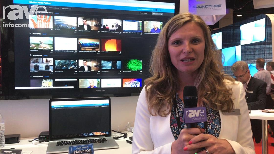 InfoComm 2017: Haivision Debuts Media Platform