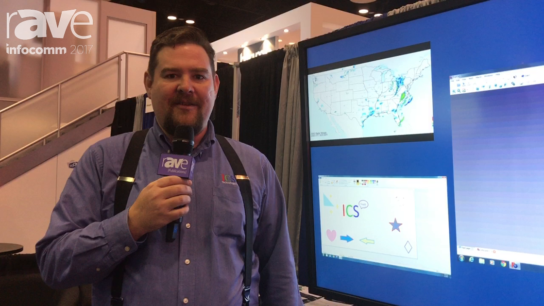 InfoComm 2017: ICS Technology Video Wall Processor With WC-Touch Technology