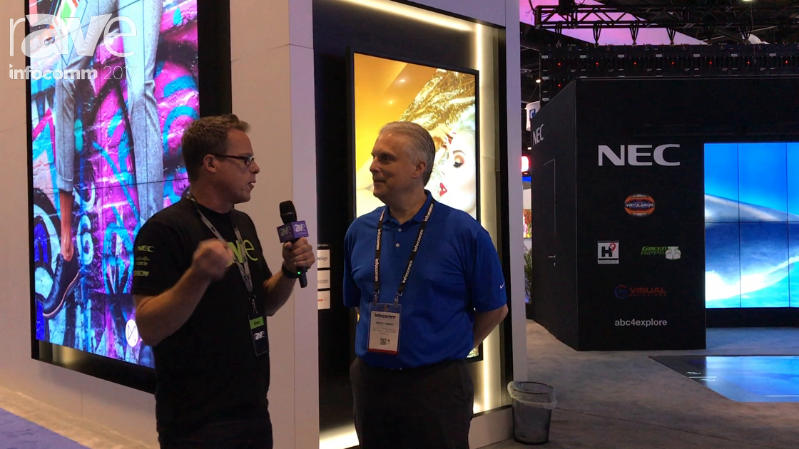 InfoComm 2017: Keith Yanke of NEC Display Gives Gary Kayye the Ultimate Booth Tour