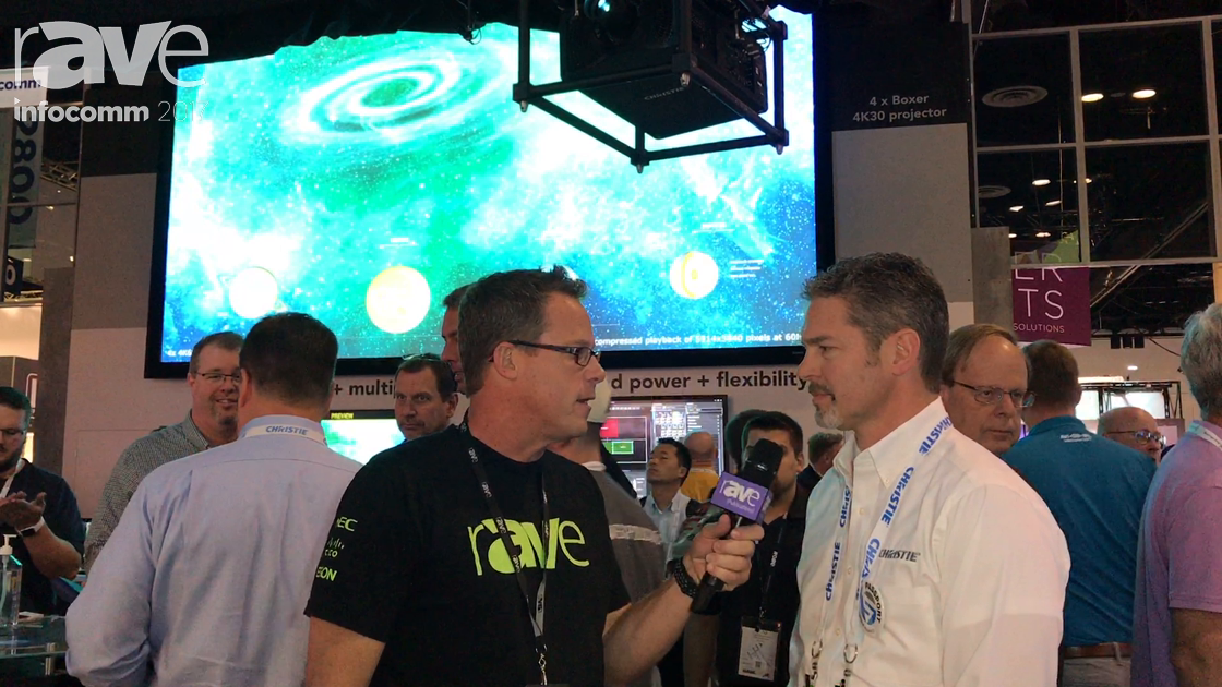 InfoComm 2017: Steve Capling of Christie Gives Gary Kayye a Comprehensive Booth Tour