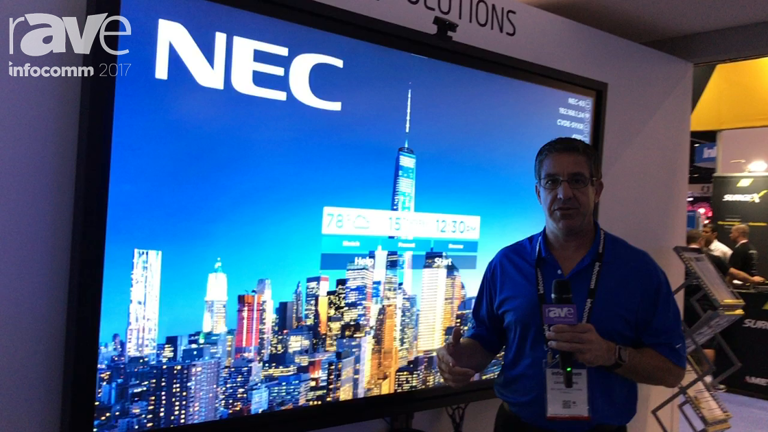 InfoComm 2017: NEC Display Features ThinkHub Collaboration Tool