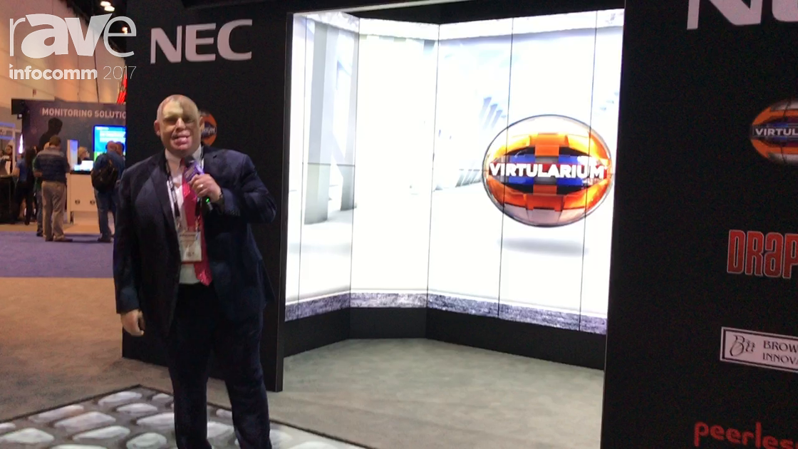 InfoComm 2017: NEC Display Unveils the Virtularium VR Experience