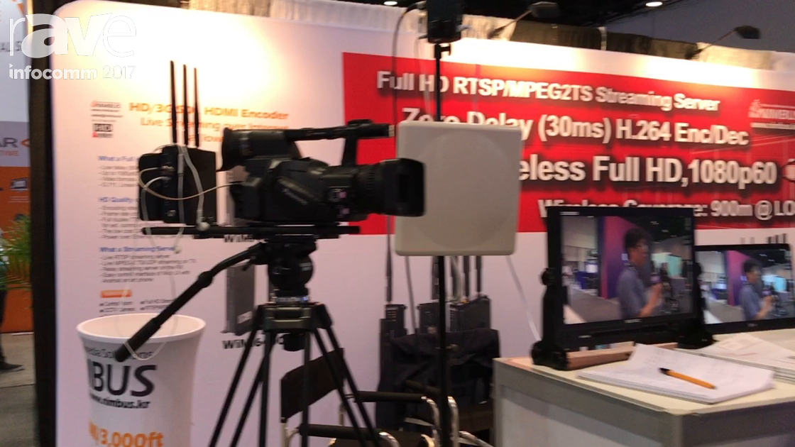 InfoComm 2017: Nimbus Shows Off Wimi 6220 Wireless Video Transmission Solution