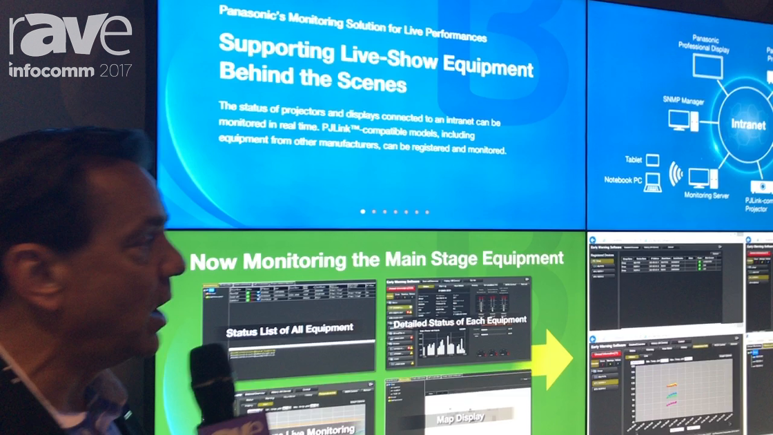 InfoComm 2017: Panasonic Exhibits Their Early Warning Software Monitoring Solution
