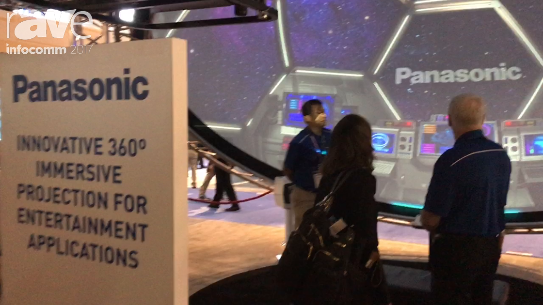 InfoComm 2017: Panasonic Presents Its 360 Immersive Projection for Entertainment Applications