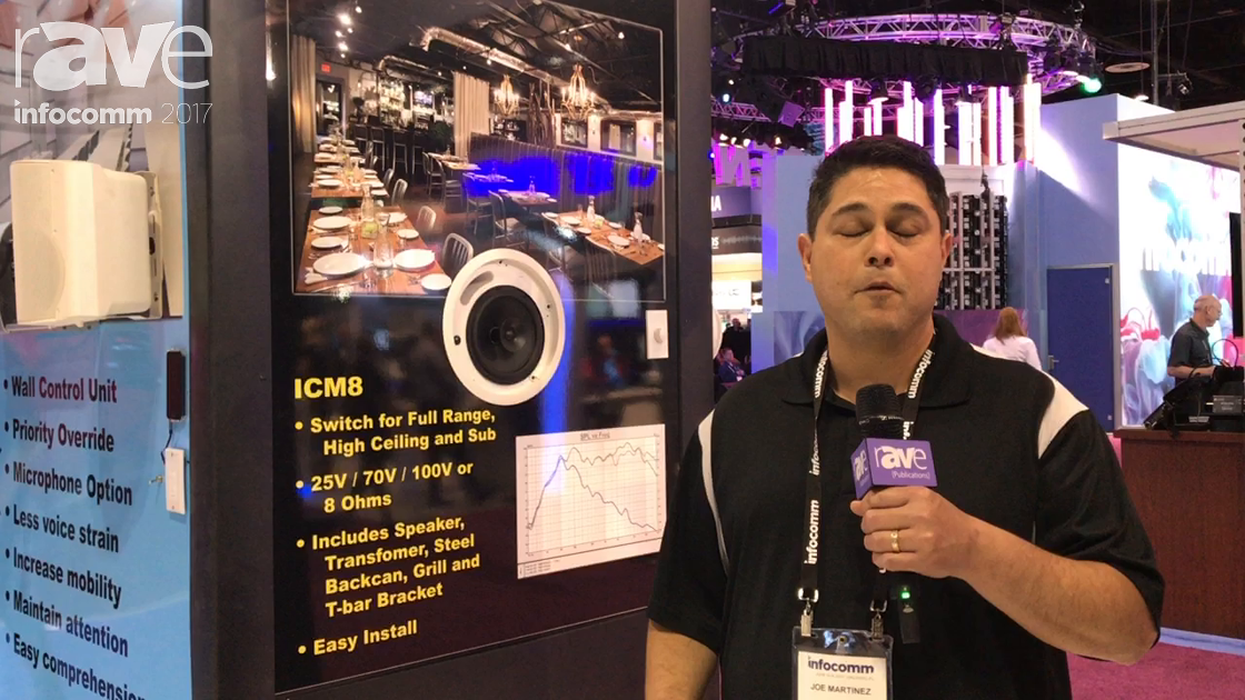 InfoComm 2017: OWI Shows the New ICM8, an In-Wall Speaker