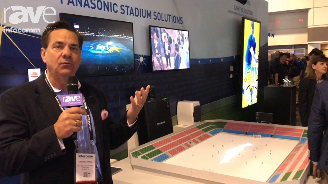 InfoComm 2017: Panasonic Talks About Its Stadium Solutions