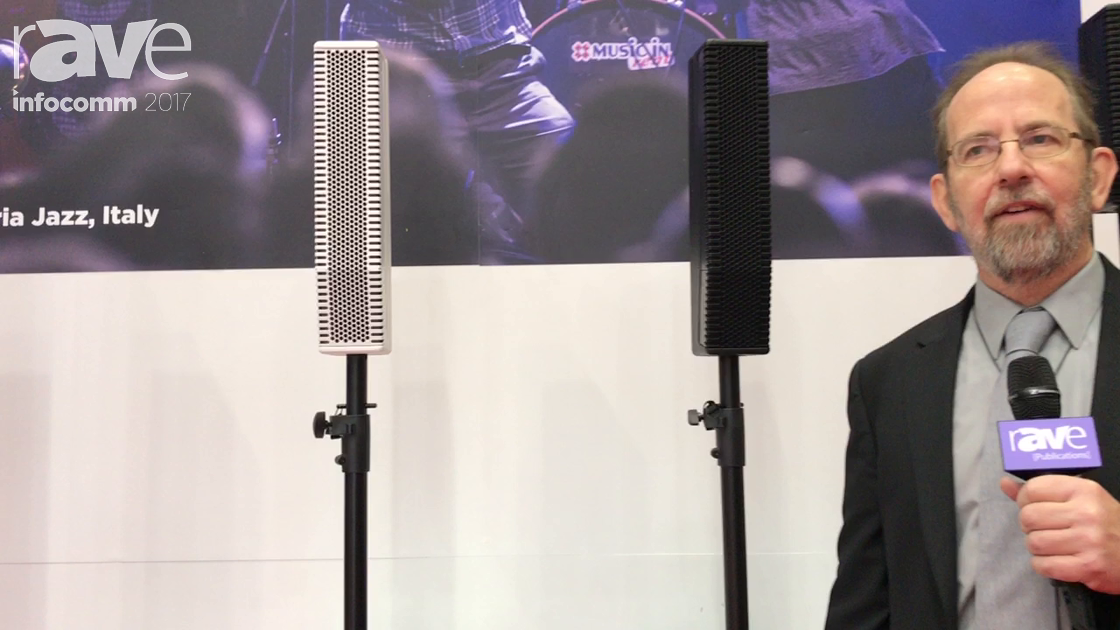InfoComm 2017: RCF Talks About Evox Portable PA Speakers