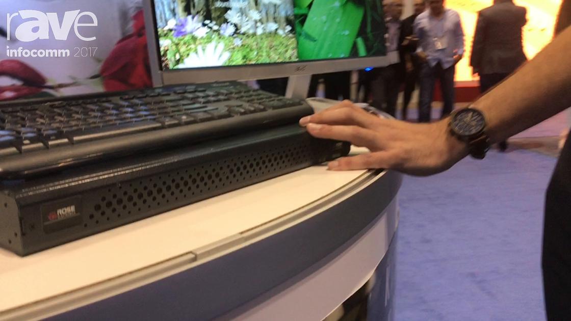 InfoComm 2017: Rose Electronics Shows Off QuadraVista Multiviewer