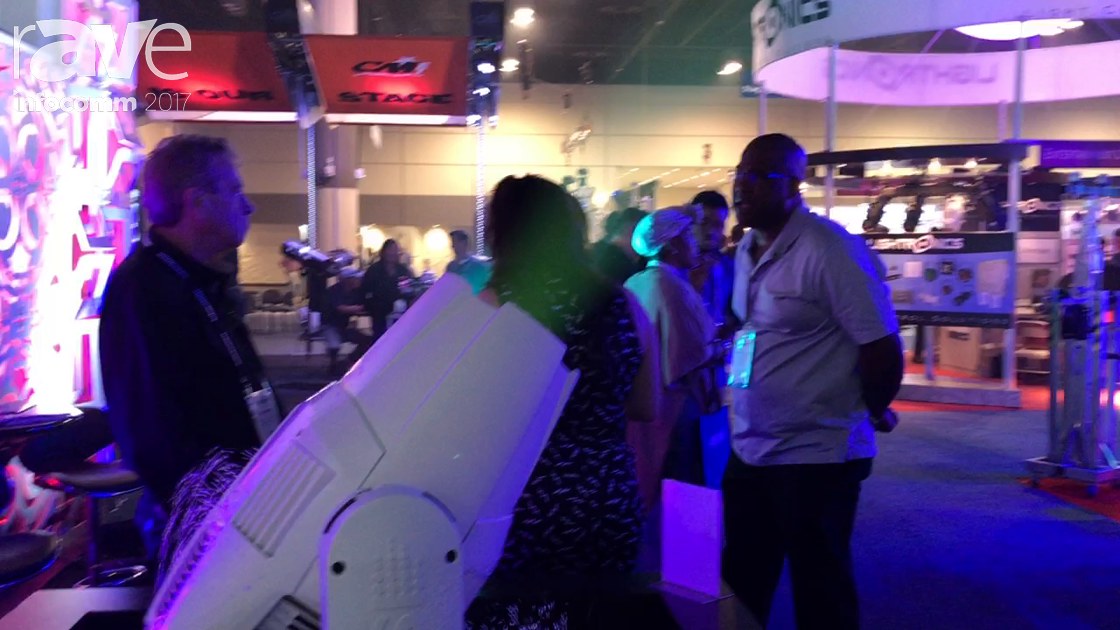 InfoComm 2017: SGM Lighting Exhibits the G-Spot POI Moving Head