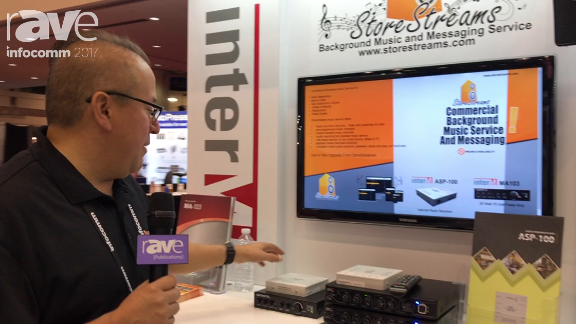 InfoComm 2017: Store Streams with Inter-M Shows ASP-100 Audio Streaming Player