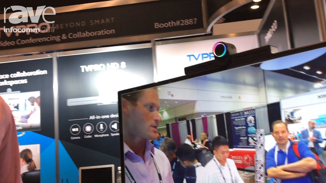 InfoComm 2017: TVPro Unveils TVPro HD8 with Camera and Microphones
