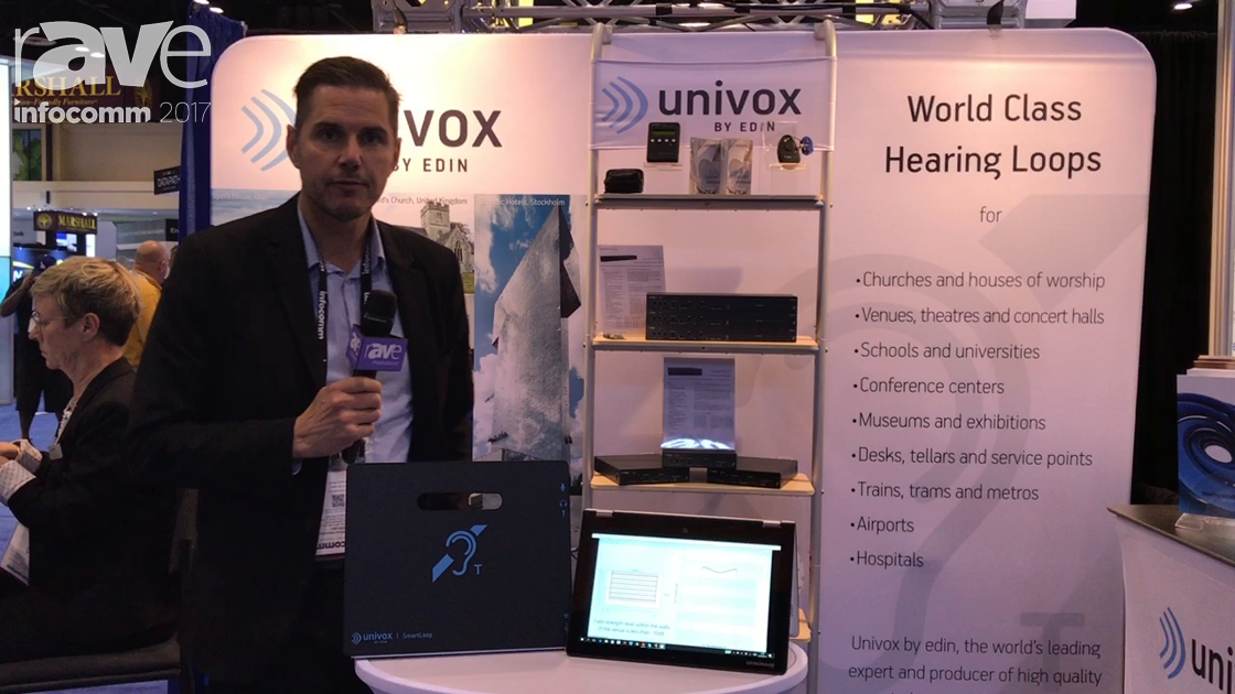 InfoComm 2017: Univox Features Its Unique Designer Software and SmartLoop Products