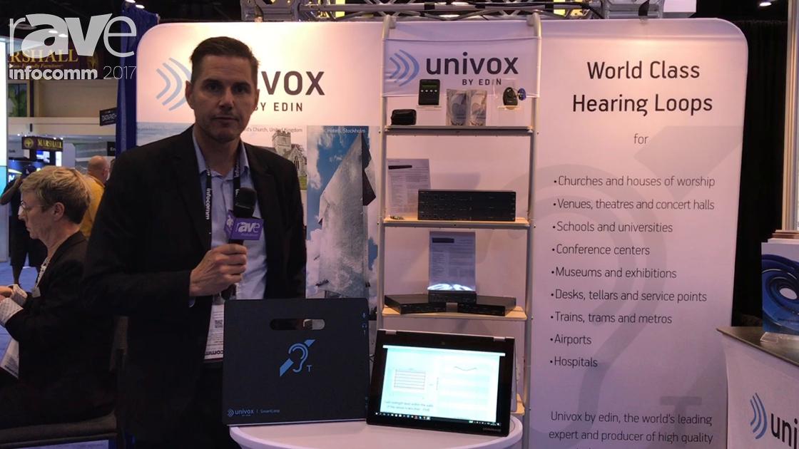 InfoComm 2017: Univox Features Its Unique Designer Software and SmartLoop Products