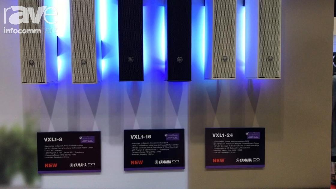 InfoComm 2017: Yamaha Talks About VXL1 Driver Array Box Speakers