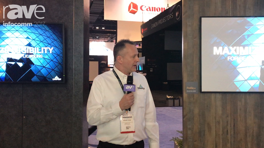 InfoComm 2017: Draper Shows How Small Fonts Look on Projection Screens vs. Flat Panel Displays
