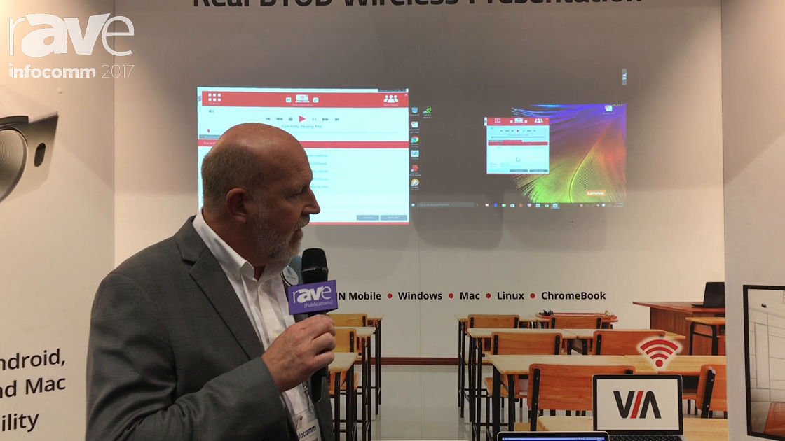 InfoComm 2017: Kramer Features the Via Go Real BYOD Wireless Presentation