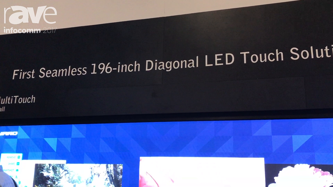 InfoComm 2017: Leyard Showcases the LED MultiTouch Interactive LED Video Wall