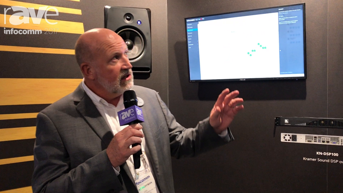 InfoComm 2017: Kramer Showcases Its IP-Based DSP