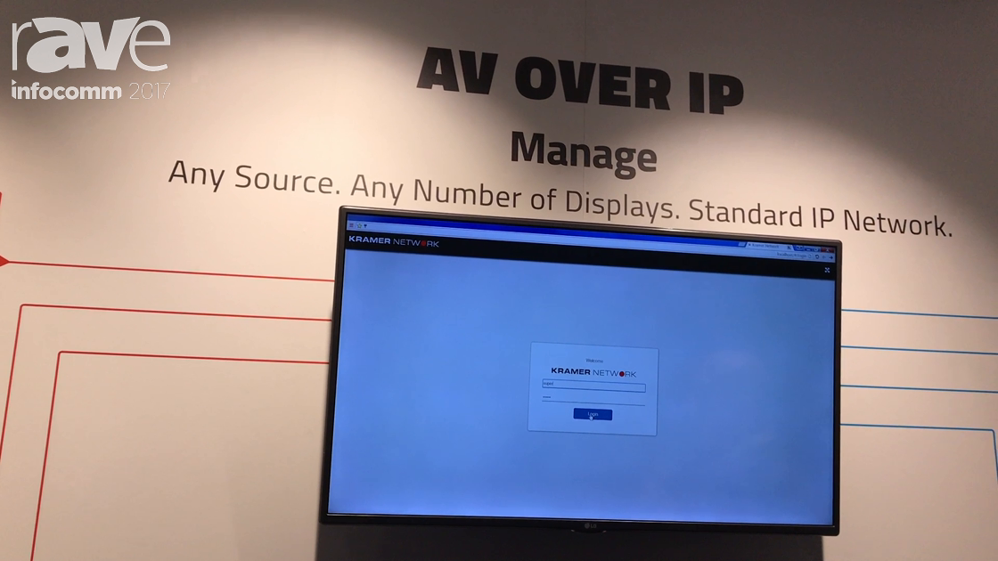 InfoComm 2017: Kramer Talks AV Over IP, Part of AV Over IT