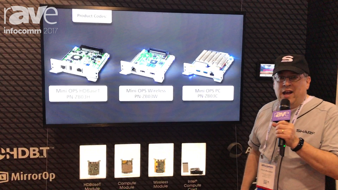 InfoComm 2017: Sharp Features PNR706 Display That Can Be Installed at Any Angle