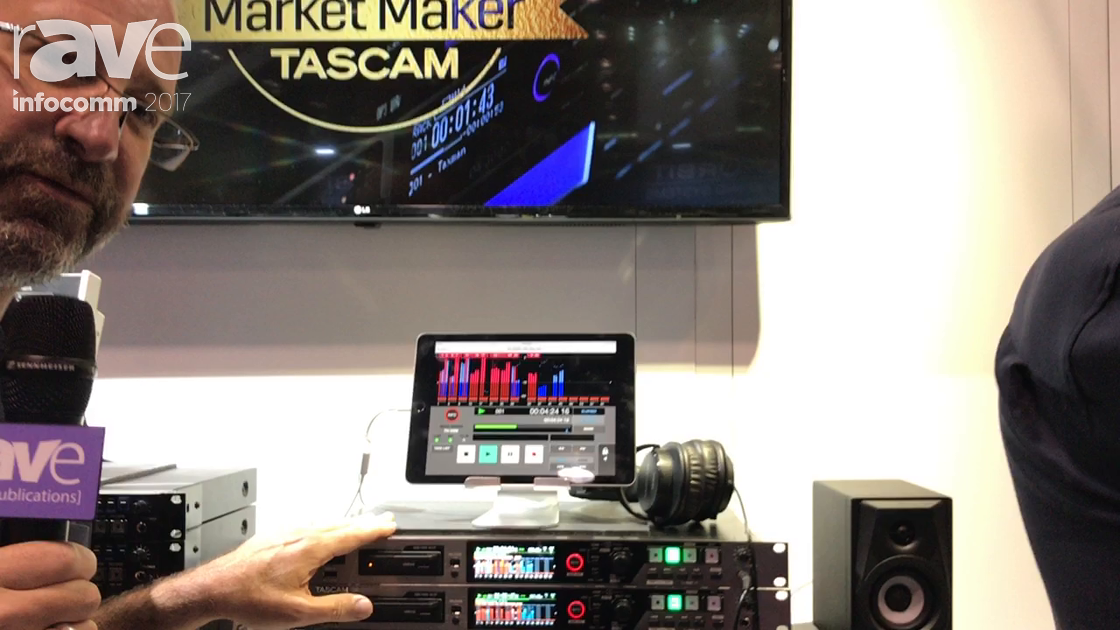 InfoComm 2017: TASCAM Introduces 64-Channel Digital Multitrack Recorder & Player