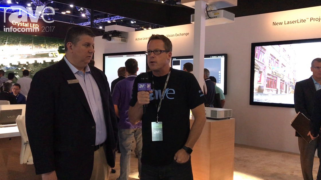 InfoComm 2017: Gary Kayye Interviews Mark Bonifacio of Sony About Its Presence at the Show