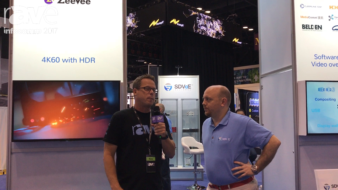 InfoComm 2017: Gary Kayye and Justin Kennington of SDVoE Talk About Why HDBaseT Is Flawed