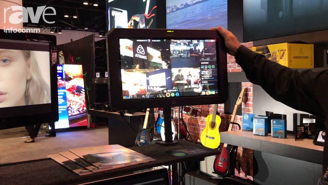 InfoComm 2017: Atomos Reveals Sumo 19 HDR Monitor